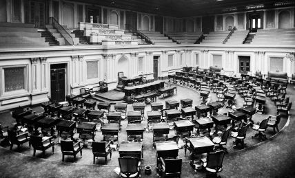 Senate Chamber, circa 1873
