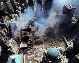911 wtc aerial