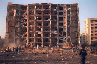 The Devastated Khobar Towers