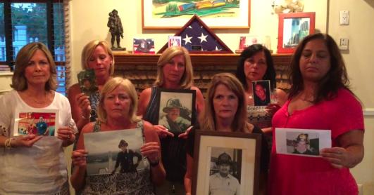 Widows of FDNY Rescue 5