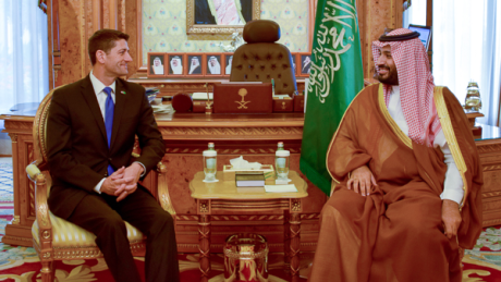 Speaker Ryan and Saudi Crown Prince Muhammad Bin Salman