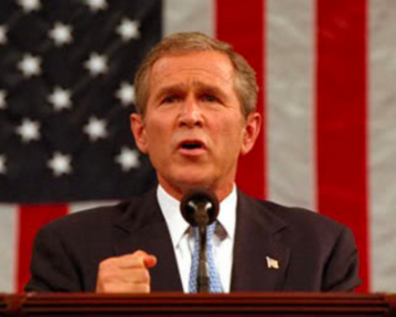 George Bush Sep 20 2001
