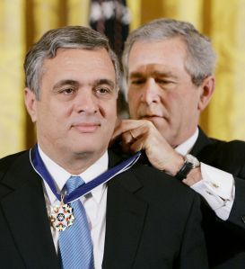 Tenet Receives Presidential Medal of Freedom