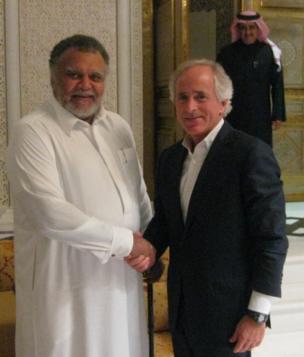 Bob Corker and Saudi Prince Bandar