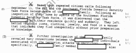 Passage from the April 2002 FBI Report